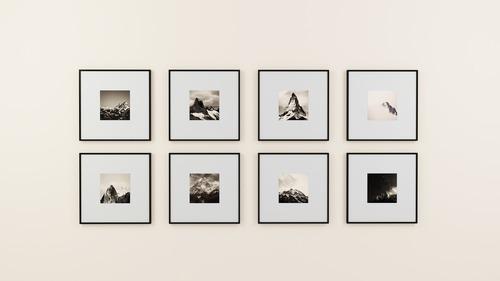 Använd dina foton till att skapa en fotovägg