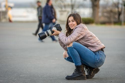 Att fotografera bland folk